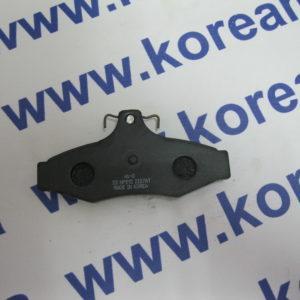 Колодки тормозные задние дисковые Daewoo Leganza