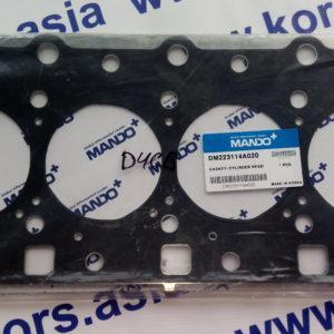 Прокладка под головку блока Kia Sorento 2,5 диз.- 2006 (графитовая) 223114A000