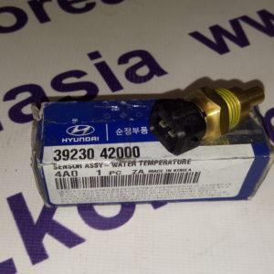 Датчик температуры двигателя Hyundai Porter, H-1, Terracan 2,5 диз. M16x1.5 ключ на 19 3923042000