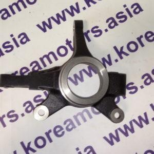 Поворотный кулак Hyundai Getz (левый) с ABS и без ABS 517151C010