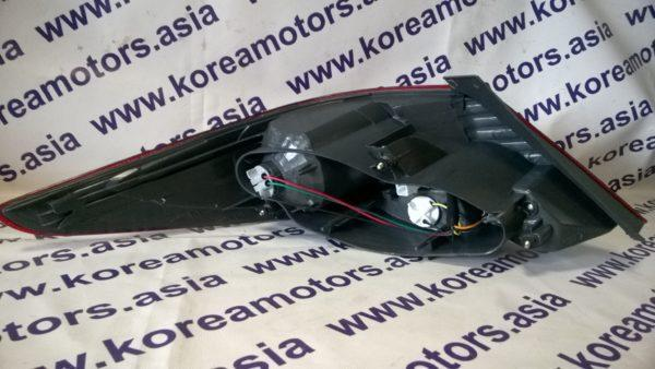 Фонарь задний Hyundai Solaris (правый) седан 924021R000
