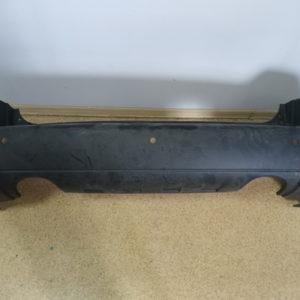 Бампер задний облицовка Hyundai Tucson 2,7 (под две трубы) (дефект) 866102E050