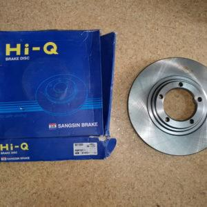 Диск тормозной передний Hyundai Porter II, H1 2WD (2003 - 2007 гг) 517124F000