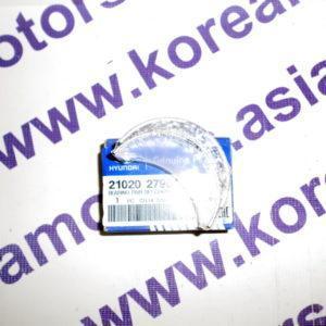 Вкладыши коренные std Hyundai Santa Fe Classic 2,0 диз. D4EA (на одну шейку) - группа В 2102027901