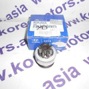 Бендикс стартера Hyundai Elantra XD 3614532510