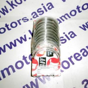 Вкладыши коренные std Hyundai Sonata EF 2,0 Dohc (цепная передача) 2102023330